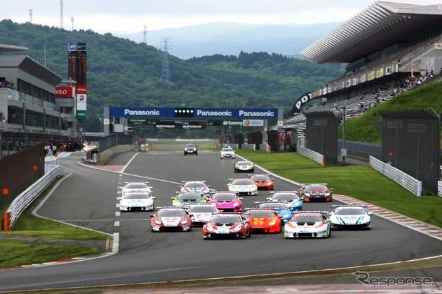 Lamborghini & Blancpain 4 Super Trofeo series Asia 2015 Round1 @ Fuji Speedway