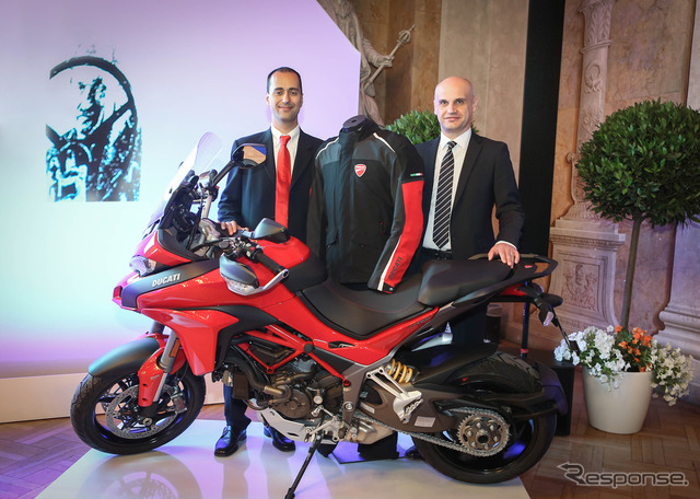 Dainese and Ducati motorcycle airbag system Porsche doctoral award
