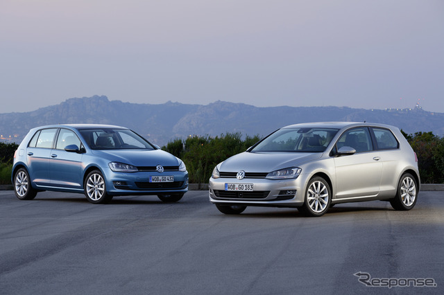 VW Golf (the reference image)