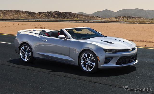 New Chevrolet Camaro convertible