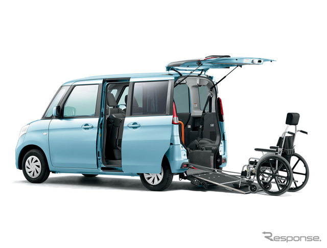 Suzuki spacia wheelchair vehicles