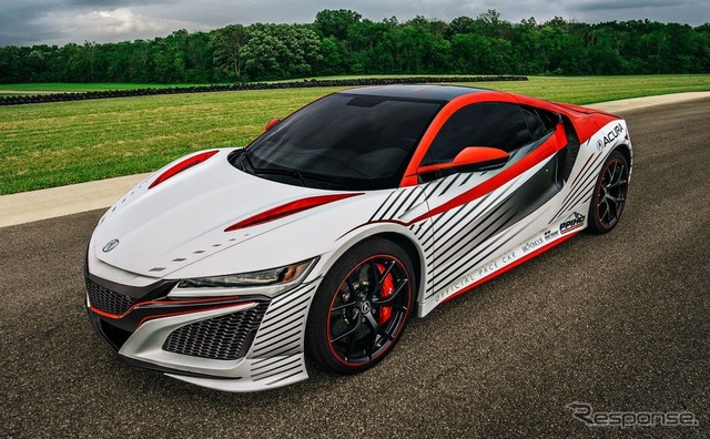 Official pace car of the new Acura (Honda) NSX
