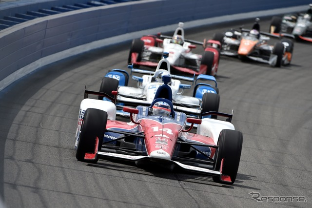 Began the top finish was # 14 SATO competed in the top group, but