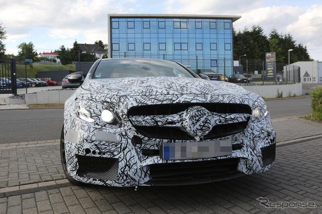 Mercedes-Benz E63 AMG Sentra scoop
