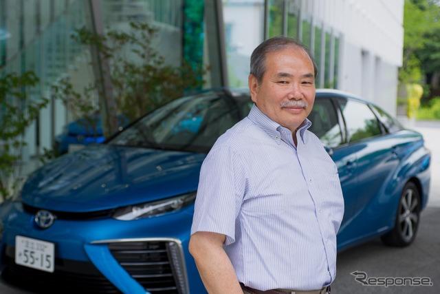 Purchased by Auto critic, Matsushita Hiroshi, and own Toyota MIRAI