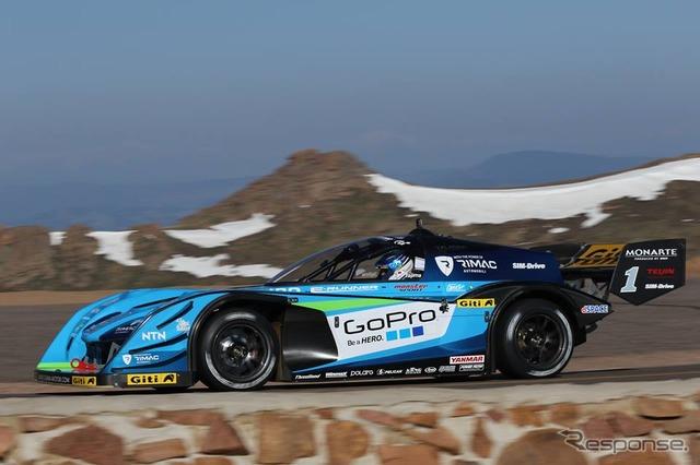 وحش هذا EV نوبوهيرو سباقات السيارات