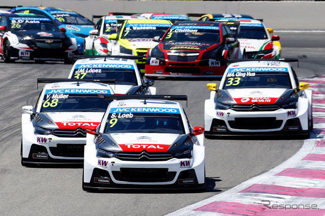 With the Citroen racing (WTCC round 7)