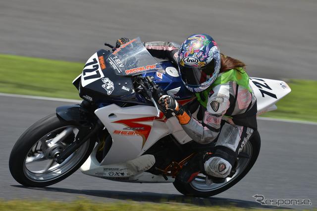 Moto challe, CBR250R (image)