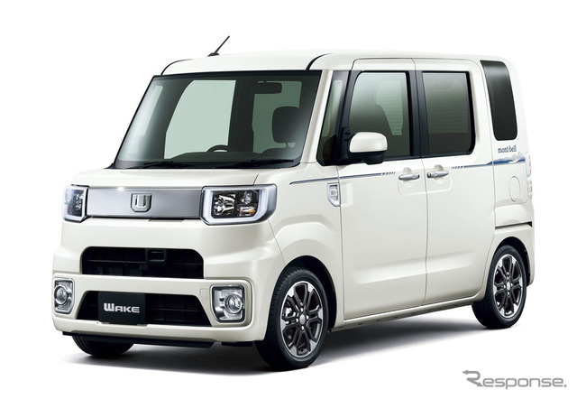 Daihatsu Wake X Montbell version SA