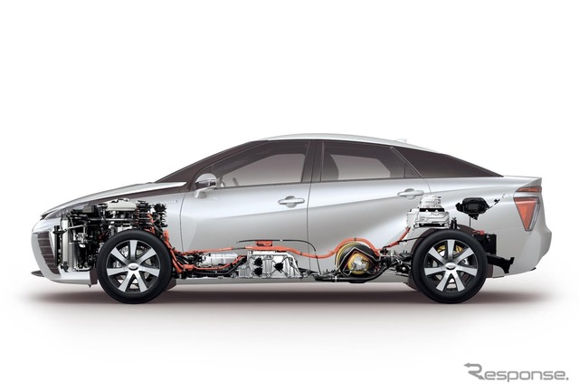 MIRAI Toyota fuel cell stack