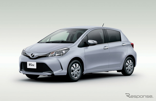 The newly improved Toyota Vitz