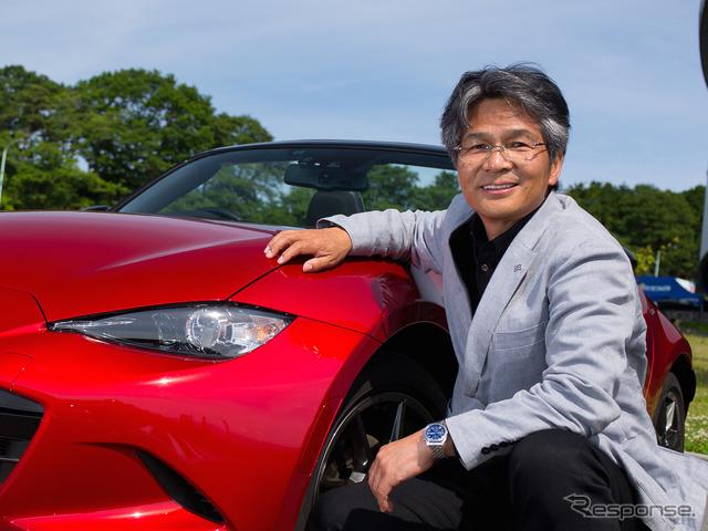 Osamu Hiroshi Yamamoto of Roadster development Chief