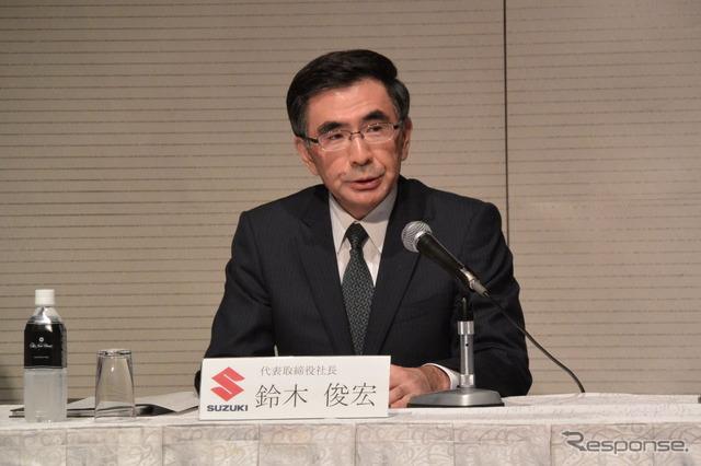 Toshihiro Suzuki, new president of Suzuki Motor