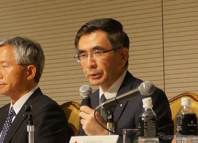Suzuki's new president, Toshihiro Suzuki