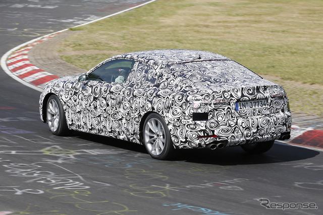 Audi S5 scoop