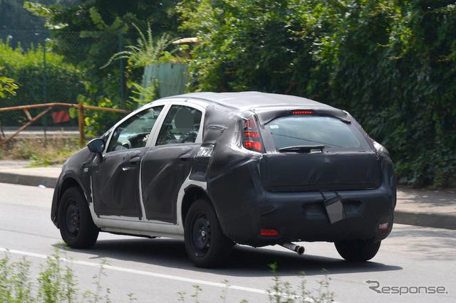 Fiat C-segment hatchback scoop