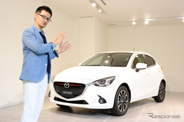 Mazda2 style collection Yanagisawa Ryo's Chief Designer