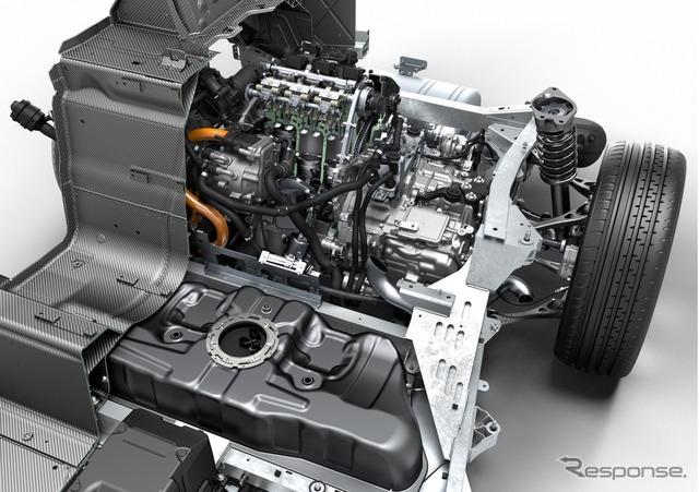 Powertrain BMW i8