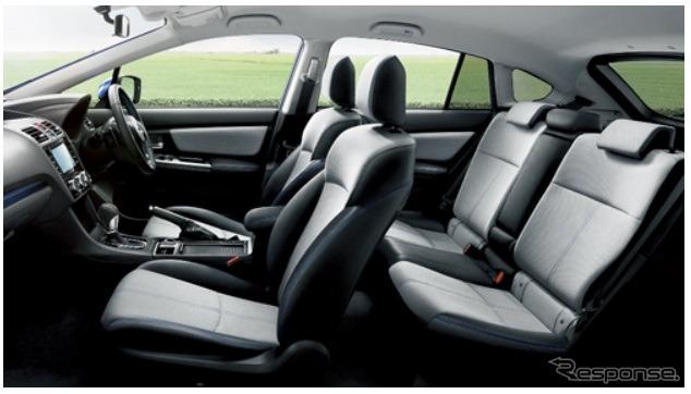 Subaru Impreza Sport Hybrid with Toray Ultra Suede