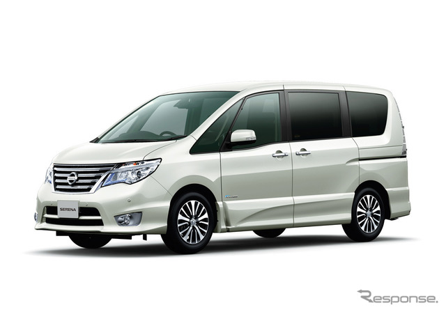 Nissan Serena (the reference image)