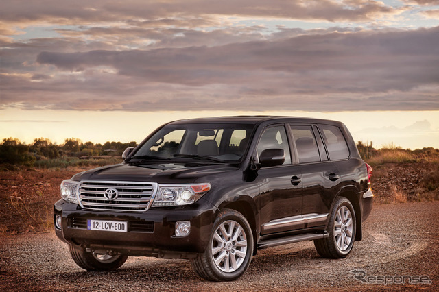 The current Toyota Landcruiser 200