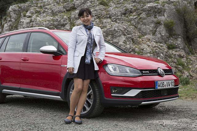 VW Golf or track (overseas model)