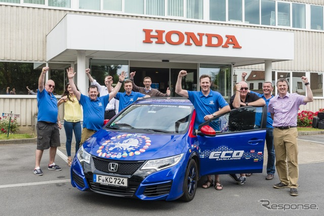 The Honda Civic that broke the Guinness Record