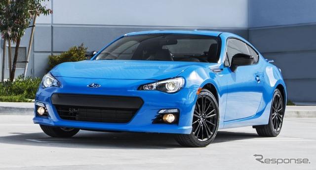 Subaru BRZ Hyper Blue