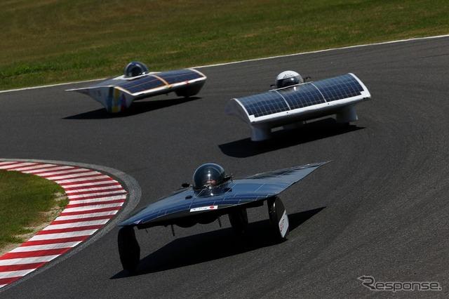 Suzuka solar car race