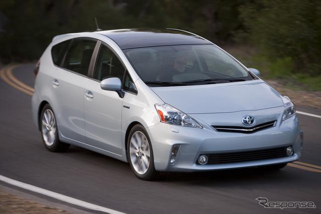 Toyota Prius v (Japan: Prius Alpha)