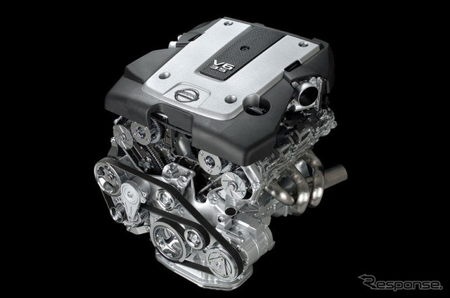 Employ the Nissan VQ engine new generation V6 from a new skyline