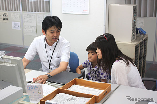 Children's visiting day, how that visit the parent's workplace