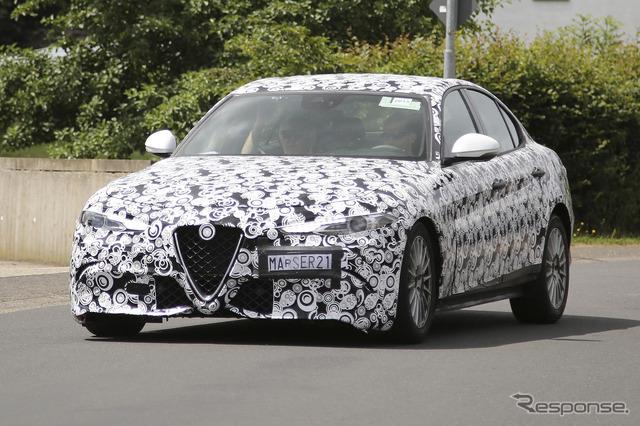 Alfa Romeo Giulia scoop