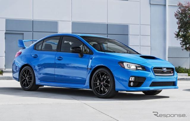Subaru WRX STI Series Hyper Blue
