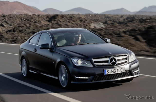 Mercedes-Benz C-class Coupe (conventional)