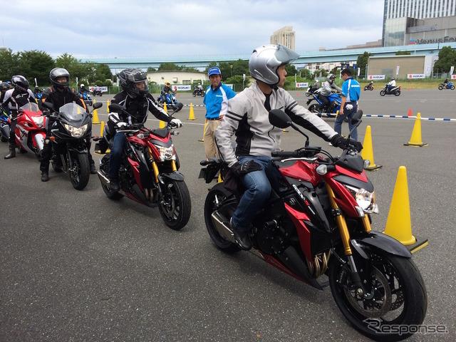 Suzuki fan RIDE Festival