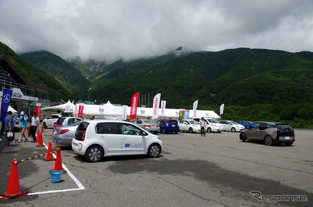 Japan EV rally by 2015 (Nagano, Hakuba village)