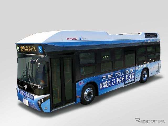 FC bus exterior