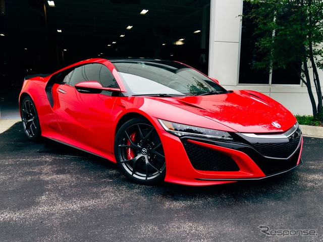 Production model of the all-new Acura (Honda) NSX
