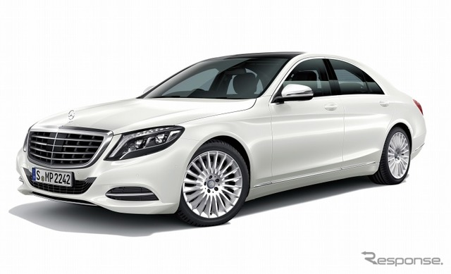 Mercedes-Benz S-class (the reference image)