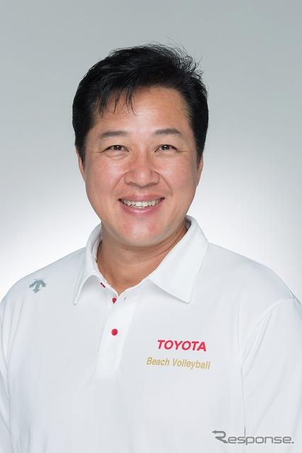 Toyota beach volleyball, Kawai Shunichi, GM