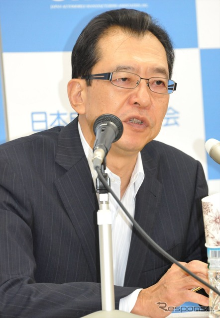 Fumihiko Chairman of Japan Automobile Manufacturers Association and the pond (23-Minato-ku)