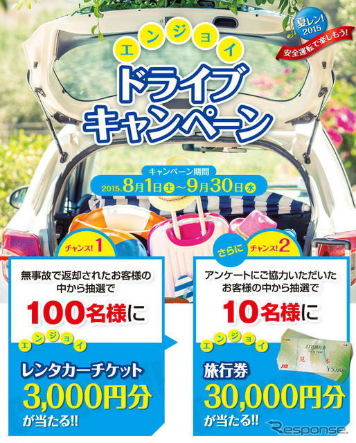 Summer Len! 2015 enjoy drive campaign