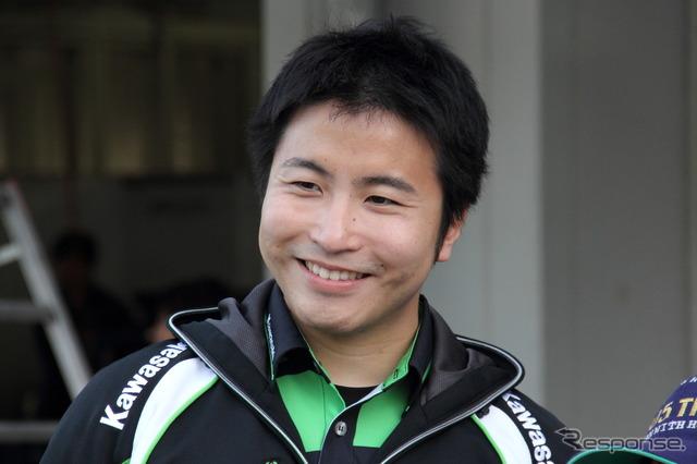 Kazuki เบะ (ภาพอ้างอิง)