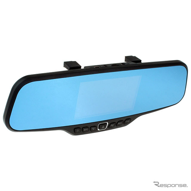 Dospara Shanghai wholesale rearview mirror integrated drive recorder