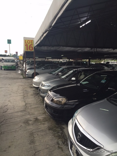 Malaysia used cars Bunkhouse stores.