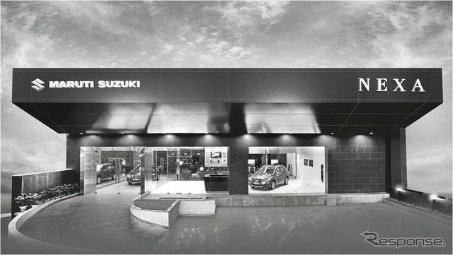 "New Maruti Suzuki dealer ""NEXA' image"