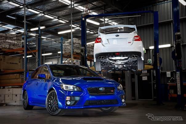 Exclusive motorsport Subaru WRX STI models (Australia)