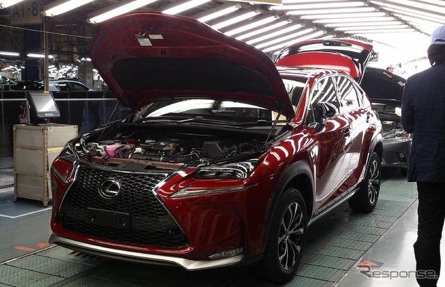 Toyota Kyushu Miyata plant (photo Lexus NX)