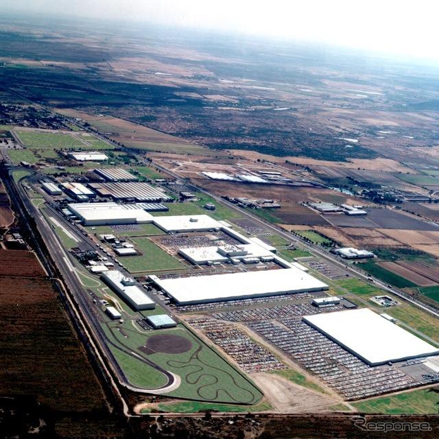 Nissan's Aguascalientes plant (Mexico)